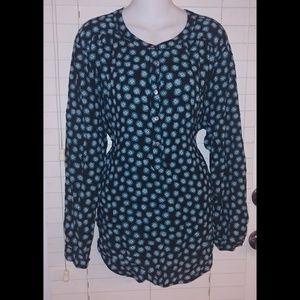 Sale 💰 Ann Taylor loft factory half button blouse